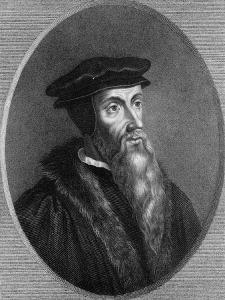 Jean Calvin, 16th Century French Theologian by Thomas Woolnoth
