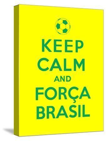 Keep Calm and Forca Brasil