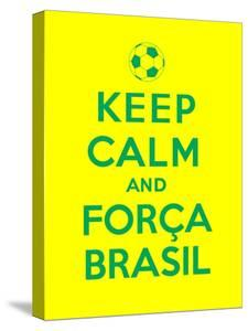 Keep Calm and Forca Brasil by Thomaspajot