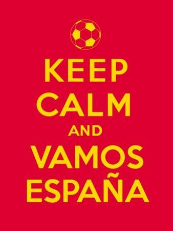 Keep Calm and Vamos Espana by Thomaspajot