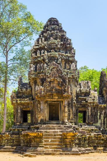 Thommanon temple ruins, Angkor Archaeological Park, UNESCO World Heritage Site, Siem Reap, Cambodia-Jason Langley-Photographic Print