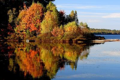 Thompson Lake-photo by Bob Travis-Photographic Print