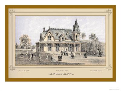 Illinois Building, Centennial International Exhibition, 1876
