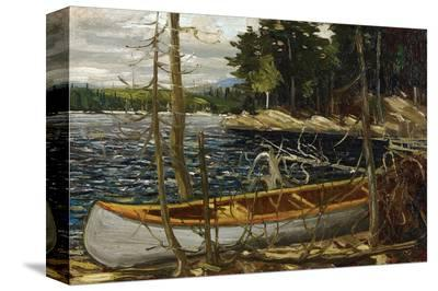 Thomson - The Canoe-Tom Thomson-Stretched Canvas Print