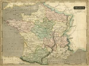 Thomson's Map of France by Thomson