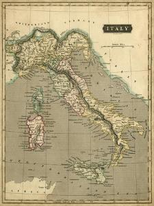 Thomson's Map of Italy by Thomson