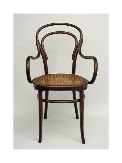 Thonet Chair, Steamed Beech, Austria--Giclee Print