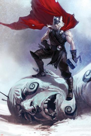 Thor: Ages Of Thunder No.1 Cover: Thor--Art Print