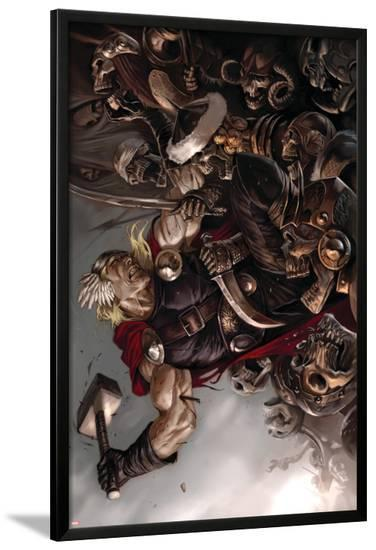 Thor: Ages Of Thunder - Reign Of Blood Cover: Thor--Lamina Framed Poster