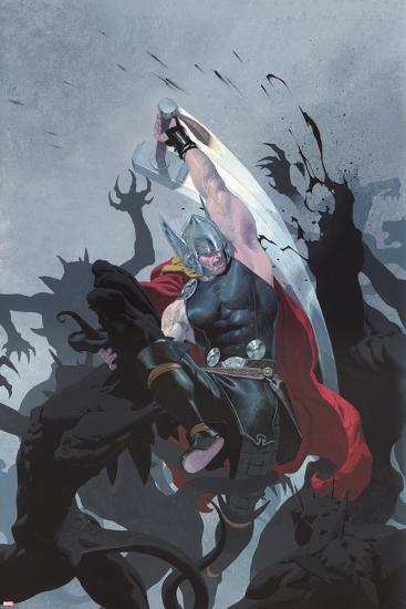 Thor: God of Thunder #3 Cover: Thor-Esad Ribic-Art Print