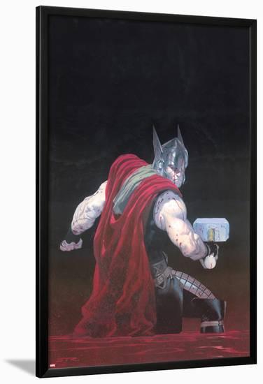 Thor: God of Thunder #7 Cover: Thor-Esad Ribic-Lamina Framed Poster
