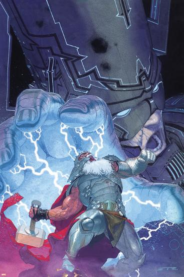 Thor: God of Thunder No. 20: Thor, Galactus--Art Print