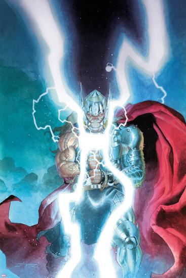 Thor: God of Thunder No. 25 Cover-Esad Ribic-Art Print