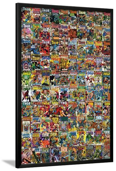 Thor No.600: Thor Cover Gallery Cover: Thor--Lamina Framed Poster