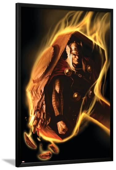 Thor No.602 Cover: Thor--Lamina Framed Poster