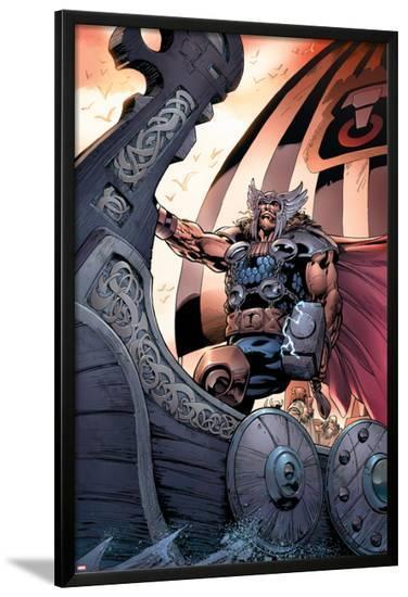 Thor No.79 Cover: Thor-Scot Eaton-Lamina Framed Poster