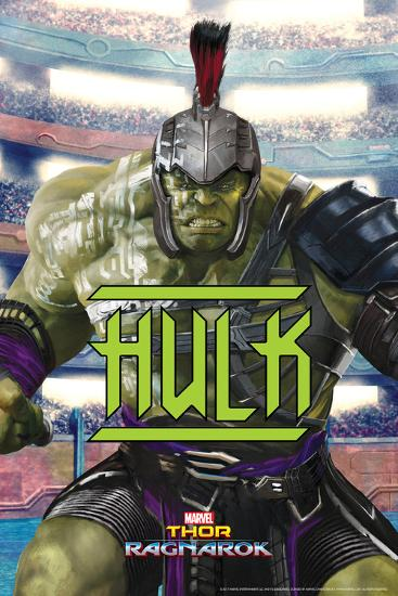 Thor: Ragnarok - Hulk--Art Print