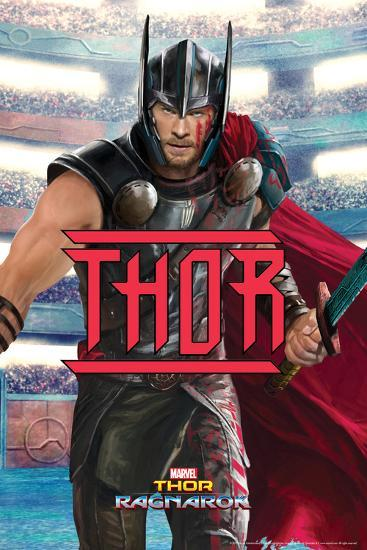 Thor: Ragnarok - Thor--Art Print