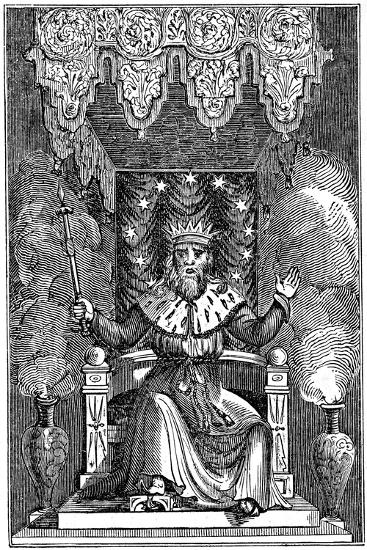 Thor, the Second God in the Ancient Scandinavian Pantheon, 1834--Giclee Print
