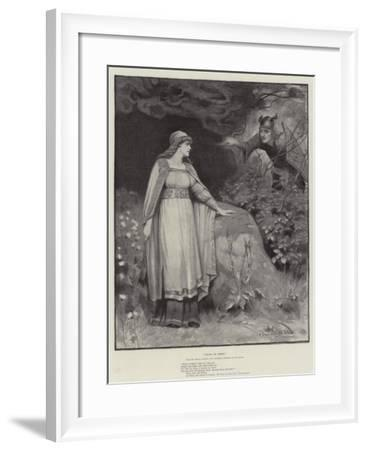 Thora of Rimol-George Sheridan Knowles-Framed Giclee Print