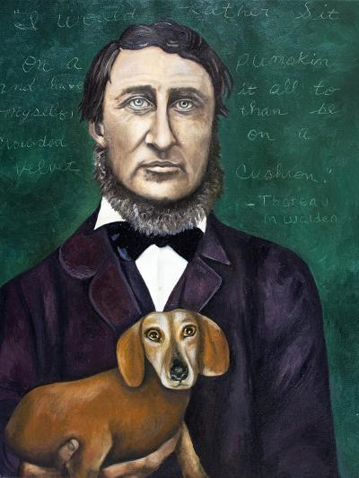 Thoreau-Leah Saulnier-Giclee Print