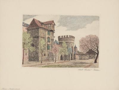 Thorn - Stadtmauer- Fischer-lenz-Collectable Print