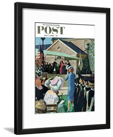 """College Graduation,"" Saturday Evening Post Cover, June 4, 1960"