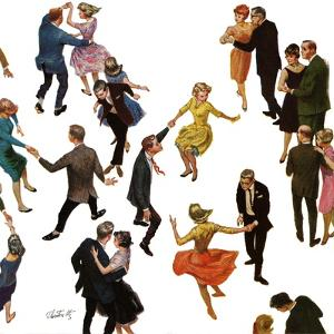 """Different Dancing Styles,"" November 4, 1961 by Thornton Utz"