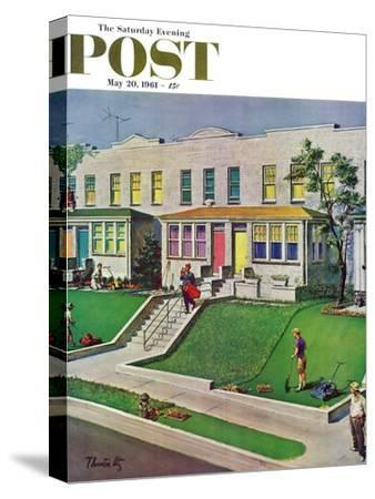 """""""I'd Rather Be Golfing,"""" Saturday Evening Post Cover, May 20, 1961"""