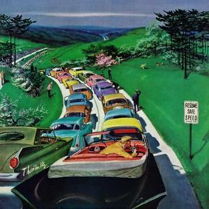 """Resume Safe Speed"", May 30, 1959 by Thornton Utz"