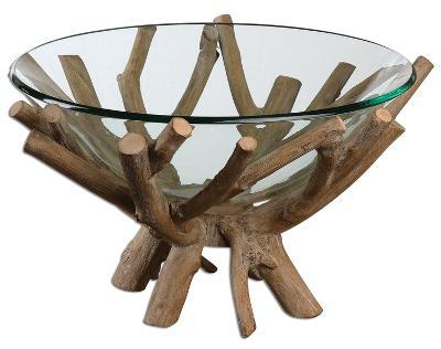 Thoro Wood Bowl--Home Accessories