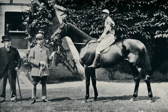 Thoroughbred racehorse, Ladas, 1894-Unknown-Photographic Print