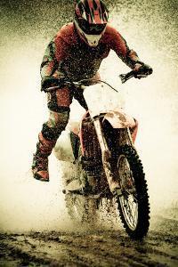 Dirt Bike Rider by Thorpeland Photography