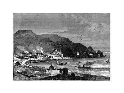 Thorshavn, the Capital of the Faroe Islands, C1890--Giclee Print
