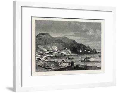 Thorshavn, the Capital of the Faroe Islands--Framed Giclee Print