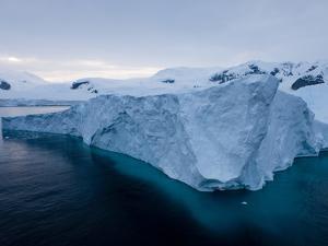 Glacier, Paradise Bay, Antarctic Peninsula, Antarctica, Polar Regions by Thorsten Milse