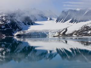 Glacier, Spitzbergen, Svalbard, Norway, Arctic, Scandinavia, Europe by Thorsten Milse