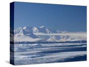 Pack Ice, Weddell Sea, Antarctic Peninsula, Antarctica, Polar Regions by Thorsten Milse