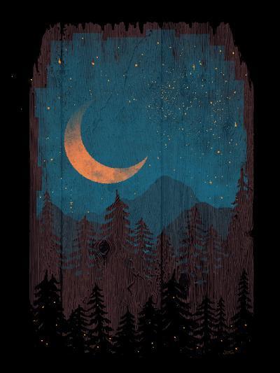 Those Summer Nights-NDTank-Art Print