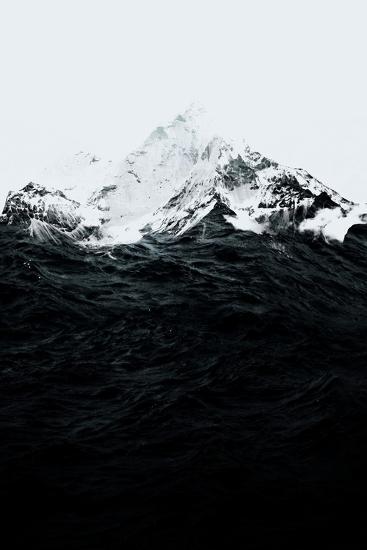 Those Waves Were Like Mountains-Robert Farkas-Art Print