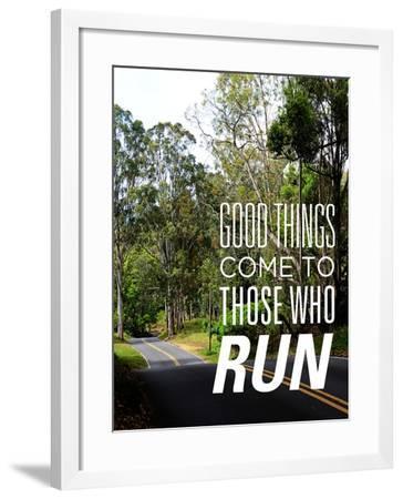Those Who Run-Bruce Nawrocke-Framed Art Print