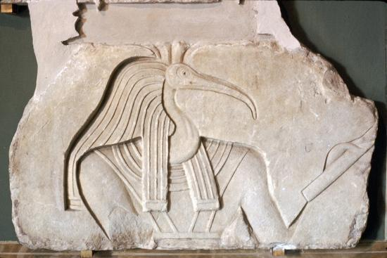Thoth: Egyptian God: Ibis headed. Vatican-Unknown-Giclee Print