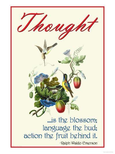 Thought--Art Print