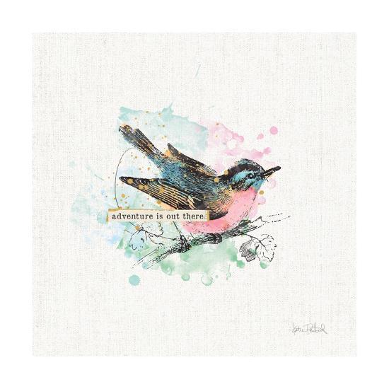 Thoughtful Wings III-Katie Pertiet-Art Print