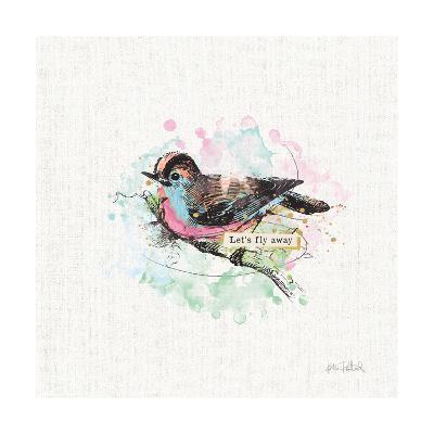 Thoughtful Wings IV-Katie Pertiet-Art Print