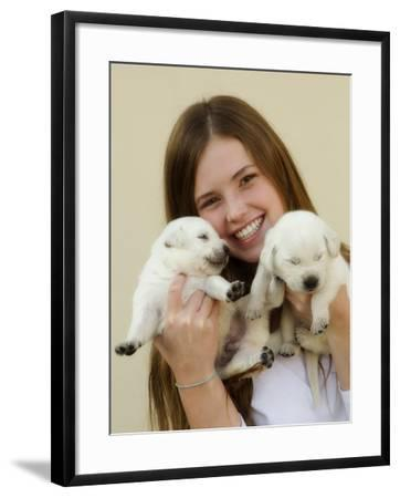THPpuppy-E6J0603c-Tanya Hovey-Framed Photographic Print