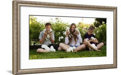THPpuppy-E6J0608c-Tanya Hovey-Framed Photographic Print
