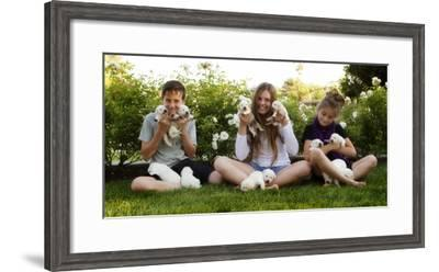 THPpuppy-E6J0608c-Tanya Hovey-Framed Photographic Print
