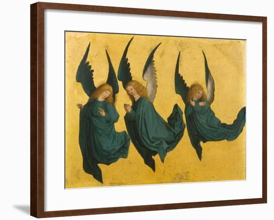 Three Angels--Framed Giclee Print