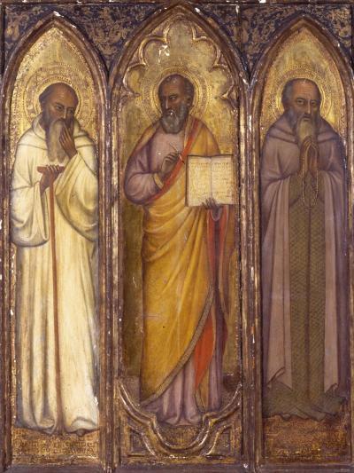 Three Apostles: St. Andrew, St. Paul, St. Luke--Giclee Print